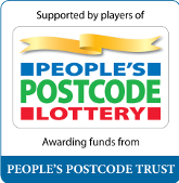 The People's Postcode Trust is a grant-giving charity funded entirely by players of People's Postcode Lottery - www.postcodetrust.org.uk and www.postcodelottery.co.uk